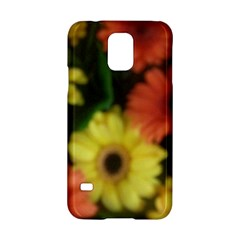 Orange Yellow Daisy Flowers Gerbera Samsung Galaxy S5 Hardshell Case