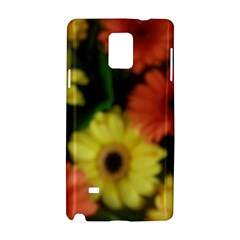 Orange Yellow Daisy Flowers Gerbera Samsung Galaxy Note 4 Hardshell Case