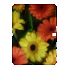 Orange Yellow Daisy Flowers Gerbera Samsung Galaxy Tab 4 (10.1 ) Hardshell Case