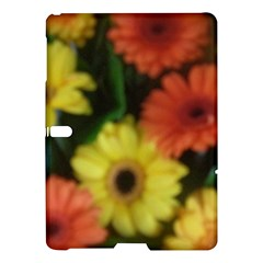 Orange Yellow Daisy Flowers Gerbera Samsung Galaxy Tab S (10.5 ) Hardshell Case