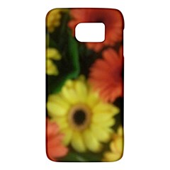 Orange Yellow Daisy Flowers Gerbera Samsung Galaxy S6 Hardshell Case