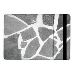 Grey White Tiles Pattern Samsung Galaxy Tab Pro 10.1  Flip Case