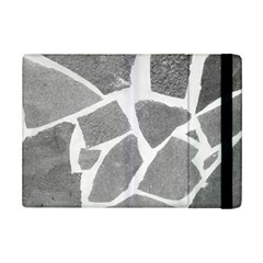 Grey White Tiles Pattern Apple Ipad Mini 2 Flip Case
