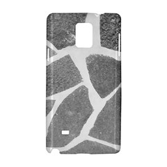 Grey White Tiles Pattern Samsung Galaxy Note 4 Hardshell Case