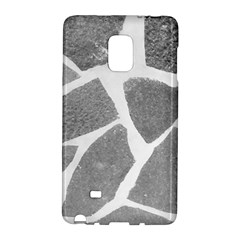 Grey White Tiles Pattern Samsung Galaxy Note Edge Hardshell Case