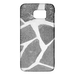 Grey White Tiles Pattern Samsung Galaxy S6 Hardshell Case