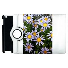 Yellow White Daisy Flowers Apple Ipad 2 Flip 360 Case