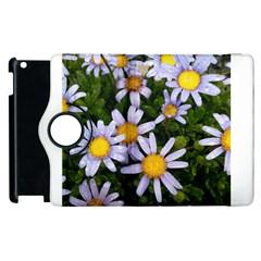 Yellow White Daisy Flowers Apple Ipad 3/4 Flip 360 Case
