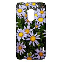 Yellow White Daisy Flowers HTC One Max (T6) Hardshell Case