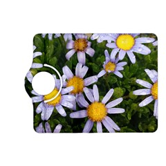 Yellow White Daisy Flowers Kindle Fire Hd (2013) Flip 360 Case