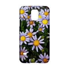 Yellow White Daisy Flowers Samsung Galaxy S5 Hardshell Case