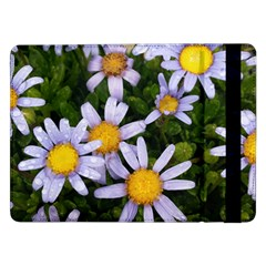 Yellow White Daisy Flowers Samsung Galaxy Tab Pro 12 2  Flip Case