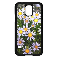 Yellow White Daisy Flowers Samsung Galaxy S5 Case (black)