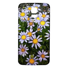 Yellow White Daisy Flowers Samsung Galaxy S5 Back Case (white)