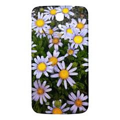 Yellow White Daisy Flowers Samsung Galaxy Mega I9200 Hardshell Back Case