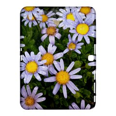 Yellow White Daisy Flowers Samsung Galaxy Tab 4 (10.1 ) Hardshell Case