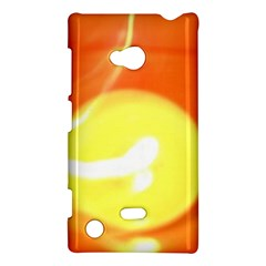 Orange Yellow Flame 5000 Nokia Lumia 720 Hardshell Case
