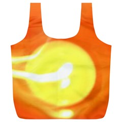 Orange Yellow Flame 5000 Reusable Bag (XL)