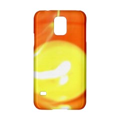 Orange Yellow Flame 5000 Samsung Galaxy S5 Hardshell Case