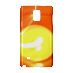 Orange Yellow Flame 5000 Samsung Galaxy Note 4 Hardshell Case