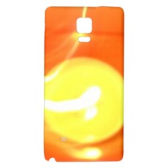 Orange Yellow Flame 5000 Samsung Note 4 Hardshell Back Case