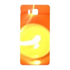 Orange Yellow Flame 5000 Samsung Galaxy Alpha Hardshell Back Case
