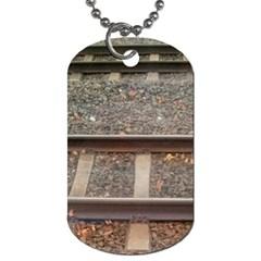 Railway Track Train Dog Tag (One Sided)