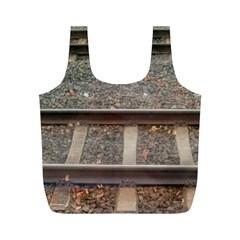 Railway Track Train Reusable Bag (M)