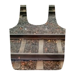 Railway Track Train Reusable Bag (l)