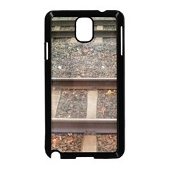 Railway Track Train Samsung Galaxy Note 3 Neo Hardshell Case (Black)