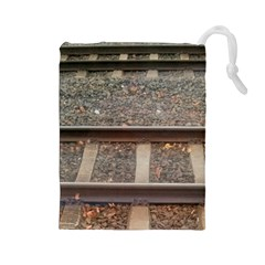 Railway Track Train Drawstring Pouch (Large)