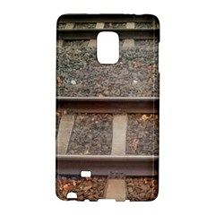 Railway Track Train Samsung Galaxy Note Edge Hardshell Case