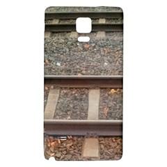 Railway Track Train Samsung Note 4 Hardshell Back Case