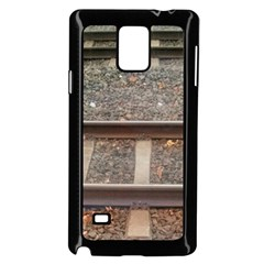Railway Track Train Samsung Galaxy Note 4 Case (Black)