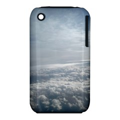 Sky Plane View Apple iPhone 3G/3GS Hardshell Case (PC+Silicone)