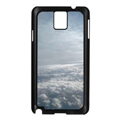 Sky Plane View Samsung Galaxy Note 3 N9005 Case (black)