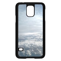 Sky Plane View Samsung Galaxy S5 Case (Black)