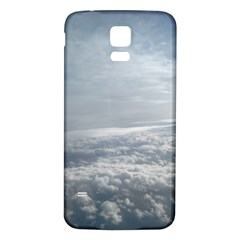 Sky Plane View Samsung Galaxy S5 Back Case (White)