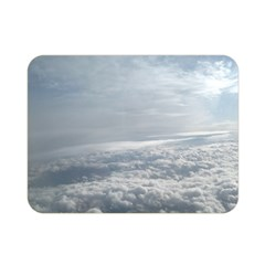 Sky Plane View Double Sided Flano Blanket (Mini)