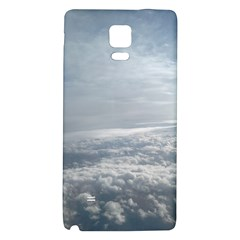 Sky Plane View Samsung Note 4 Hardshell Back Case