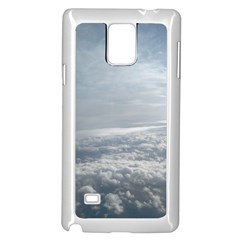 Sky Plane View Samsung Galaxy Note 4 Case (White)