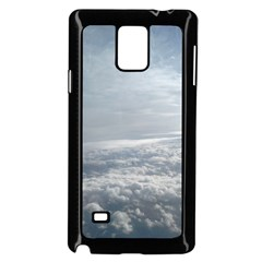 Sky Plane View Samsung Galaxy Note 4 Case (black)
