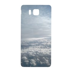 Sky Plane View Samsung Galaxy Alpha Hardshell Back Case