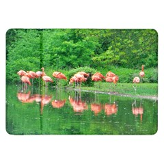 Flamingo Birds at lake Samsung Galaxy Tab 8.9  P7300 Flip Case
