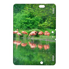 Flamingo Birds at lake Kindle Fire HDX 8.9  Hardshell Case