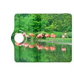 Flamingo Birds at lake Kindle Fire HDX 8.9  Flip 360 Case