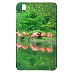 Flamingo Birds at lake Samsung Galaxy Tab Pro 8.4 Hardshell Case