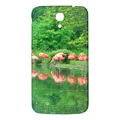 Flamingo Birds at lake Samsung Galaxy Mega I9200 Hardshell Back Case