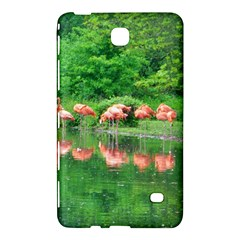 Flamingo Birds at lake Samsung Galaxy Tab 4 (7 ) Hardshell Case