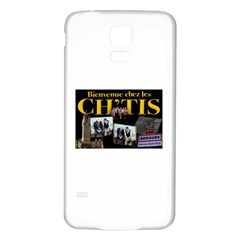 2309020769 A7e45feabe Z Samsung Galaxy S5 Back Case (White)